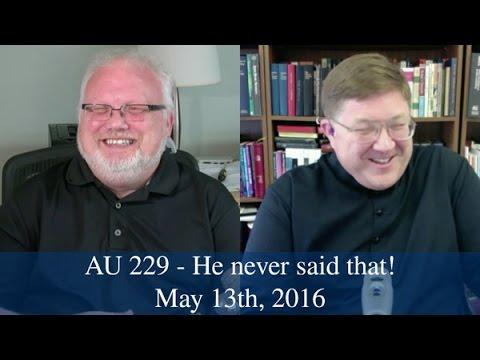 AU 229 - He didn't say that!