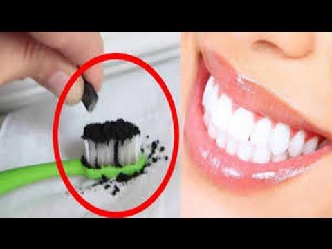 Los Dentistas No Quieren Que Sepas ESTO Este Polvo Negro En Tu Cepillo Como Pasta Lo Blanquearan En
