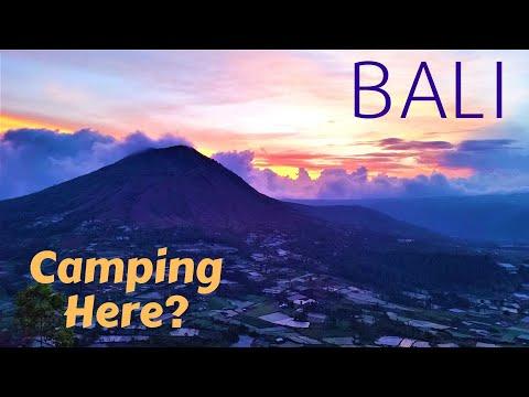 Bali - Camping Inside a Volcano