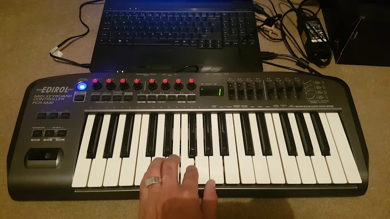 EDIROL MIDI KEYBOARD PCR M30 DRIVER FOR MAC
