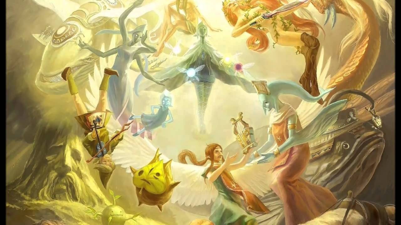 The legend of zelda th anniversary painting youtube