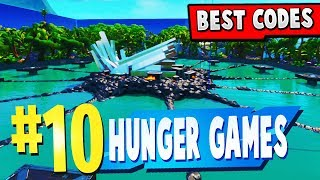 TOP 10 BEST HUNGER GAMES Creative Maps In Fortnite (fr) Fortnite Hunger Games Carte CODES