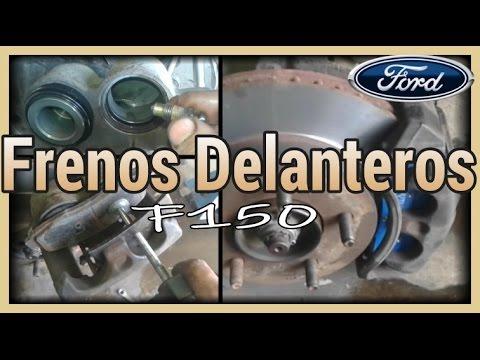 Frenos Delanteros Ford F150 Desgaste Irregular Youtube