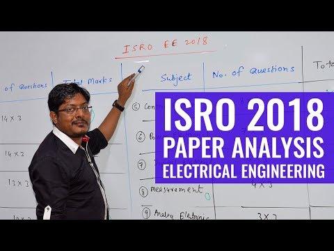 ISRO 2018 | Paper Analysis | Electrical Engineering (EE)