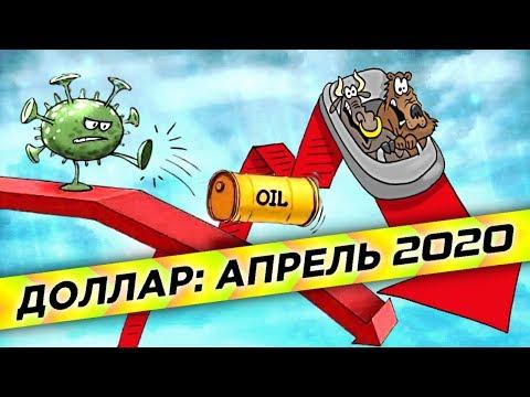 Прогноз курса доллара на апрель 2020. Что будет с рублем и нефтью? / Последние новости