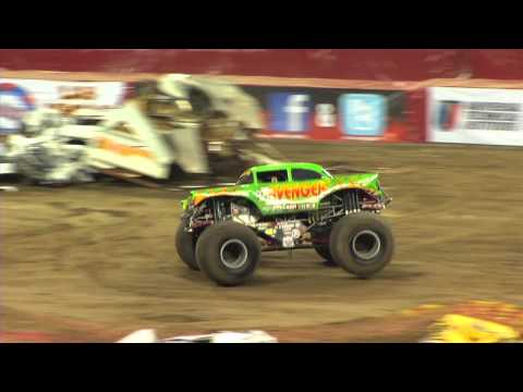 Monster Jam - Avenger Monster Truck Freestyle from Indianapolis - 2013