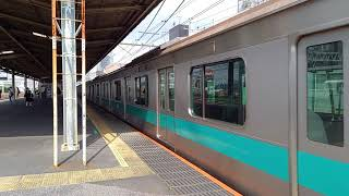 E233系2000番台マト6編成@金町