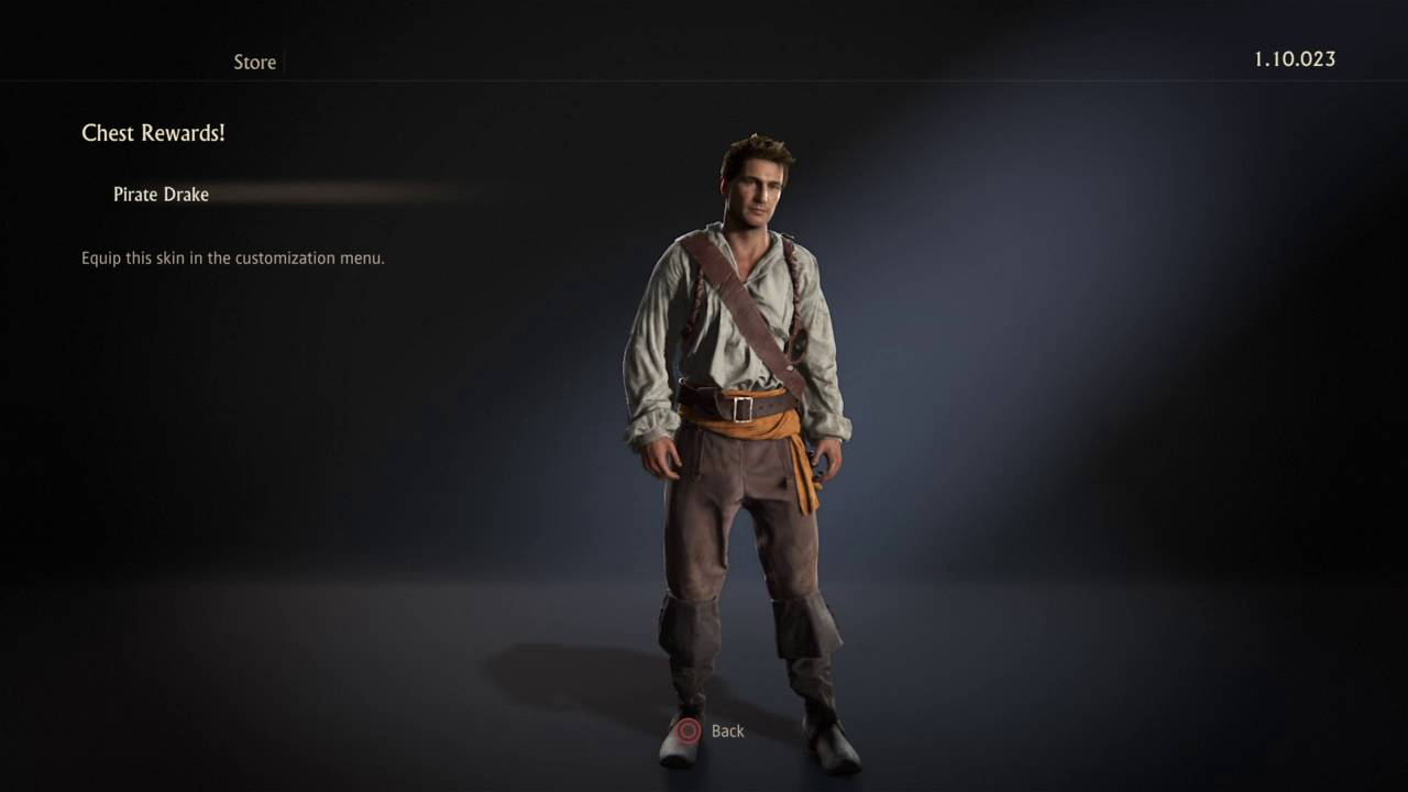 Uncharted 4 Drakes New Pirate Outfit Youtube