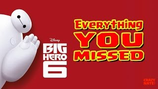 Disney's Big Hero 6 Easter Eggs | Everything You Missed