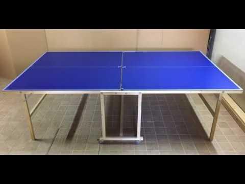 Resina epossidica e legno doovi for Costruire tavolo ping pong