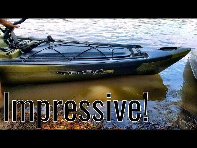 ***REVIEW*** NEW 2017 Native TITAN Propel 13.5 KAYAK. ACK Texas Kayak Demo