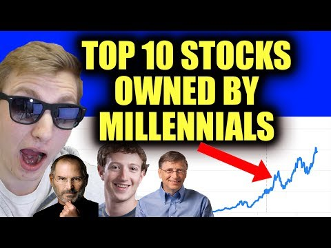 Top 10 Stocks Owned by Millennials - CRAZY INVESTMENT STRATEGY! - Snapchat Down BIG!