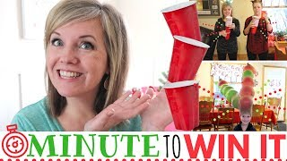 Christmas Minute To Win It Games (our Favorites! All With Dollar Store Items!)