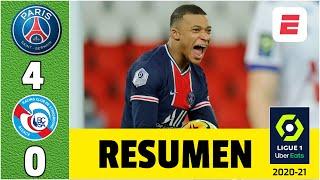 PSG 4-0 Strasbourg. Goles de Mbappé, Kean, Gueye y Pembélé para cerrar el año con goleada | Ligue 1
