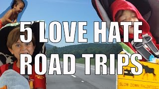 Road Trips - 5 Things You Will Love & Hate About The Family ...