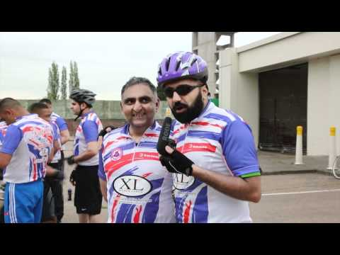Hilarious Outtakes from Punjabi Wolves Supporters Charity Rickshaw & Bike Ride!