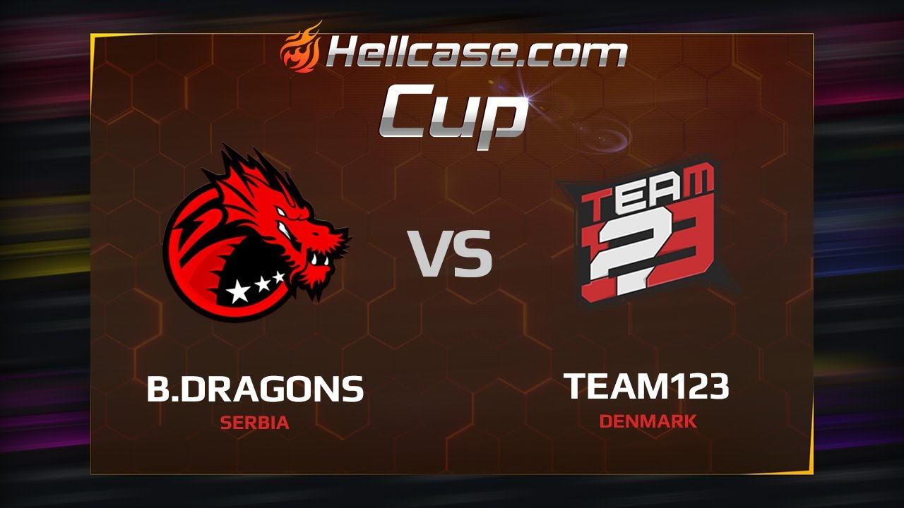 [EN] Binary Dragons vs Team123, map 1 cache, Hellcase Cup Season 5