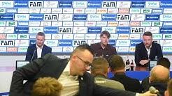 Pressekonferenz zur Vorstellung des Cheftrainers Michael Oenning beim 1. FC Magdeburg