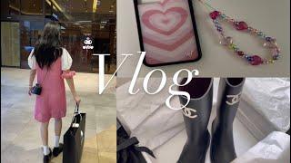 SUB) Vlog.대학생 브이로그 | 핸드폰스트랩 만들…