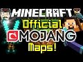 Minecraft OFFICIAL MOJANG MAPS - New in Minecraft Realms!