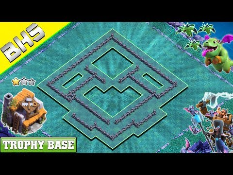 NEW Builder Hall 5 Base (BH5 Base) 2019 With COPY LINK - Clash Of Clans