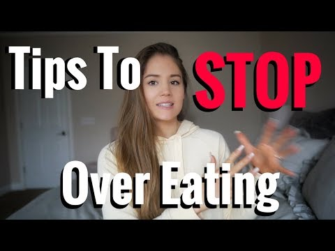Tips To STOP Over/Binge-Eating | 2-Min Tuesday