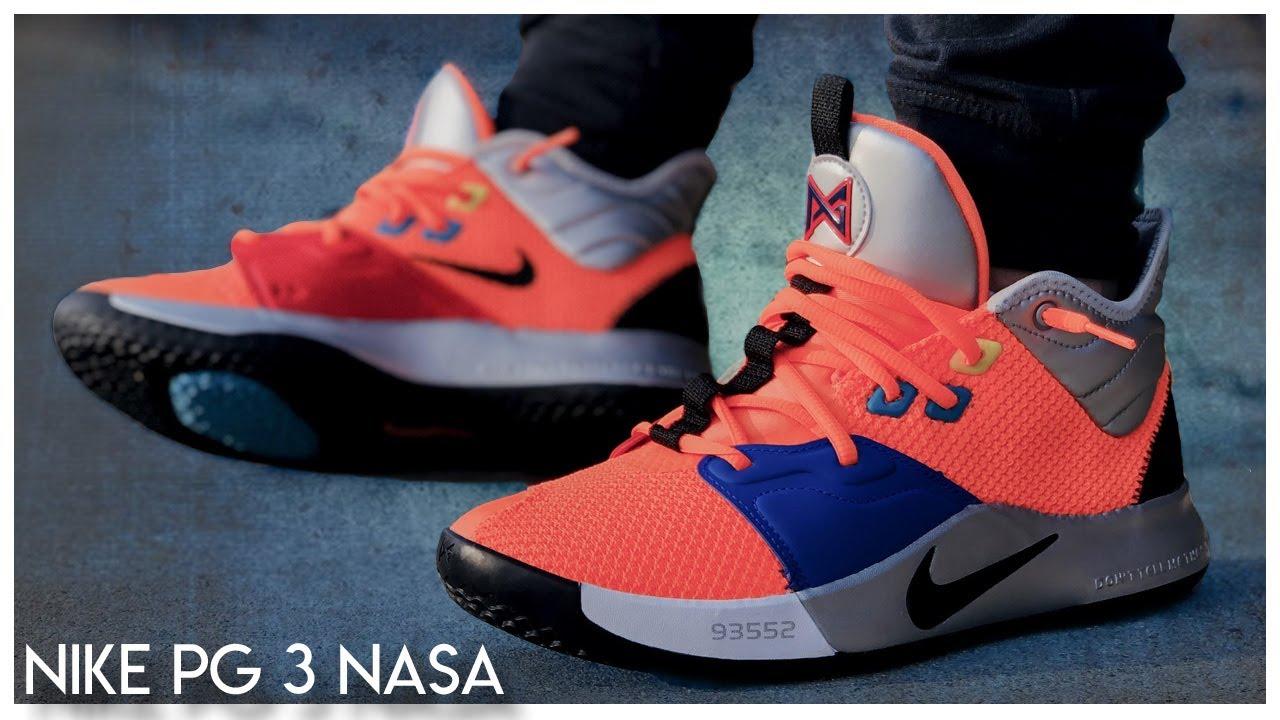 Una herramienta central que juega un papel importante. Pico Legibilidad  Nike PG3 'NASA' | Detailed Look and Review - WearTesters