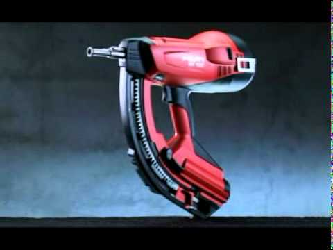 equipamento hilti gx 120 youtube. Black Bedroom Furniture Sets. Home Design Ideas