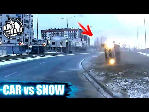 Car Ice Sliding Crash #3 , Winter Weather 2020