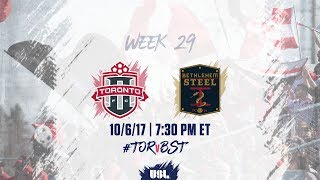 Toronto FC USL vs Bethlehem Steel FC full match