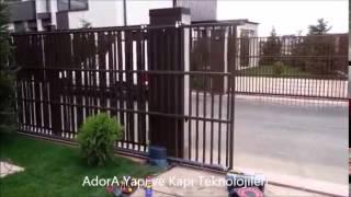 AdorA Otomasyon //  NİCE Robo Yana Kayar Bahçe Kapısı Motoru