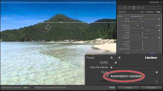 Lightroom CC, Lightroom 6 - Der neue Verlaufsfilter mit Filterpinsel