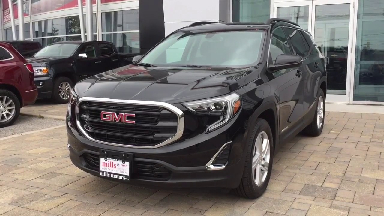 Detailed Look At The All New Redesigned 2018 Gmc Terrain Youtube