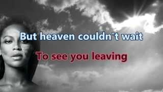 [Karaoke] Beyoncé - Heaven Instrumental with lyrics Singalong