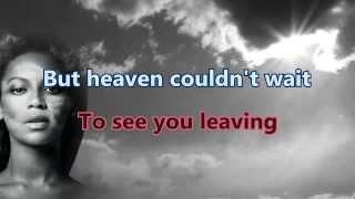 [Karaoke] Beyoncé - Heaven Instrumental with lyrics Singalong