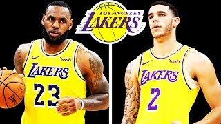 Updated Lakers Rotation With & Without Lonzo Ball!