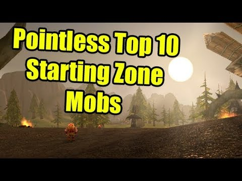 Pointless Top 10: Starting Zone Mobs in World of Warcraft