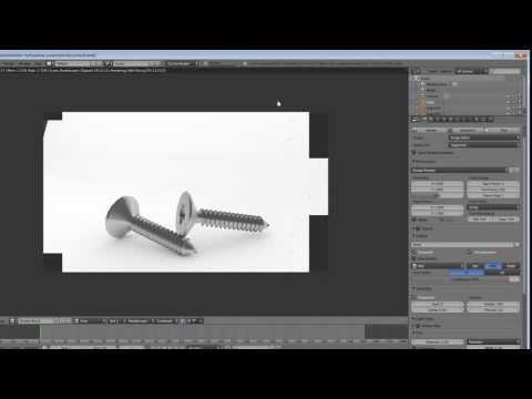 MODELING A SCREW IN BLENDER 2.6