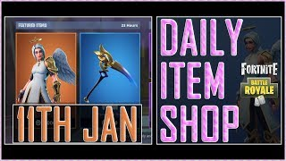 Fortnite: BR Daily Item Shop (11th Jan 2019) *NEW* Items - ARK Featured skin - Battle Royale