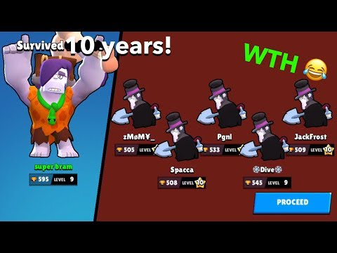 SUPER STACKING ON BOSS FIGHT WITH SHELLY AND FRANK - +Boss Frank VS 5 Morti - Brawl Stars