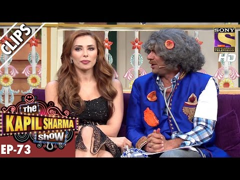 Thumbnail: Iulia Vantur asks Dr. Mushoor Gulati to sit by her Side - The Kapil Sharma Show – 8th Jan 2017