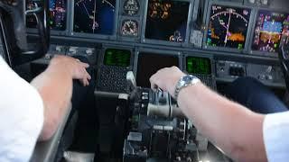 Cockpitflug Vom Airport Erfurt - Weimar Nach Málaga