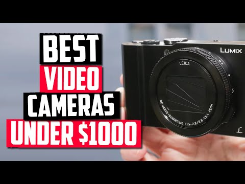Best Video Camera Under $1000 - Top 5 Great Filmmaking Picks!