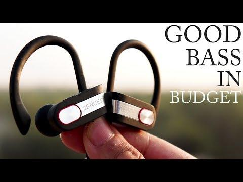 [HINDI] Best BASS Bluetooth Earphones [Budget Friendly] [Sencer Q7 Review]