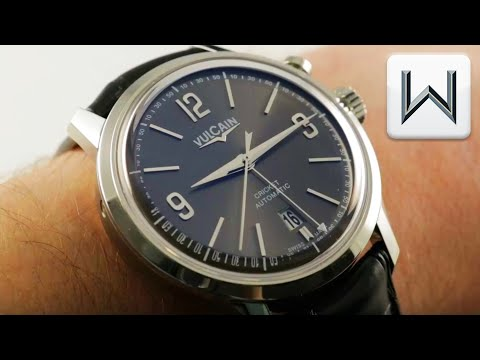 Vulcain Cricket 50s Presidents' Watch Alarm Watch 210150.278LF Luxury Watch Review