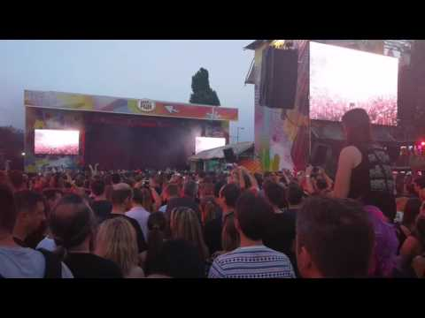 Marilyn Manson koncert a Budapest Parkban