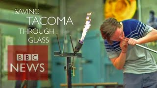 Gangs & Glassblowing in Tacoma - BBC News