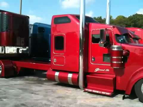 Low suspension - Project 351 Kenworth W900