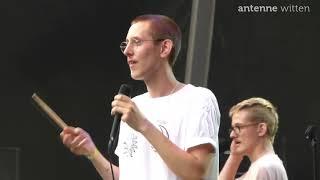 Bochum Total: Feuerwehreinsatz auf dem Festival während des Auftritts von Figur Lemur