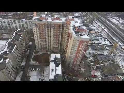 Строительство жилого комплекса «Дом на Зелёной»